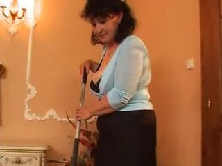 Busty Mature Pantyhose Fucks Two Cocks Sex Tubes