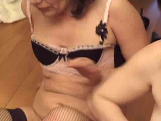 Amateur European French Mature Stockings
