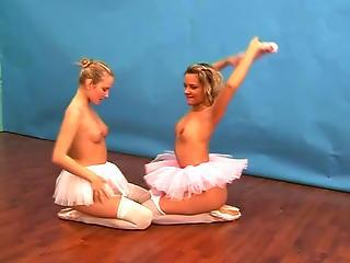 Ballerina Girls Playing With A Dildo?s=7