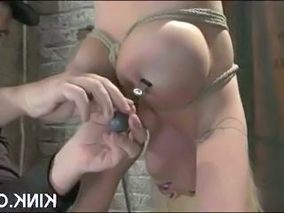 Interracial bondage copulation