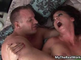Hot big tits Latina girl gets fucked