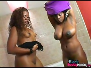 Babe Bathroom Big Tits Ebony Lesbian Natural Stripper