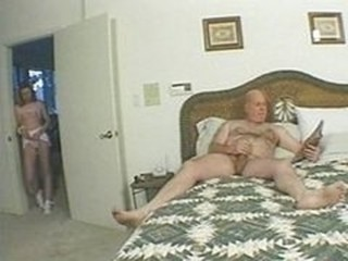 Elder cock younger slut