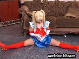 Fashion Lolitas 10 Flexi Aerobic Teen Cunt