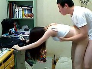 Amateur Asian Doggystyle Korean Sister