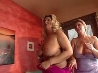 Busty Cougar Orgy