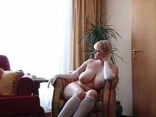 Babe Big Tits Blonde Chubby Natural Russian