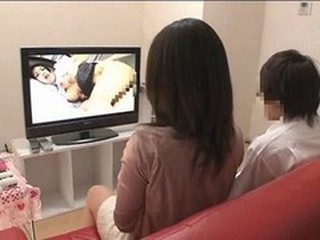 Mother and son watching porn together experiment - 3