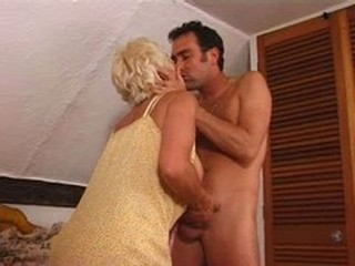 British Granny gets pounded