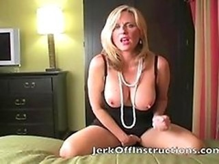 Horny Mom makes you Jerk off for her