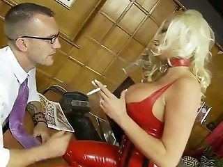 Amazing Big Tits British European Latex  Pornstar Silicone Tits Smoking