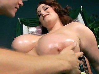 Big Tits Chubby  Natural Oiled
