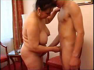 Amateur Big Tits Chubby Handjob Mature Mom Natural Old and Young
