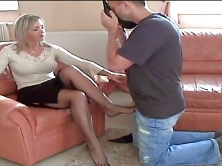 cougar pantyhose shoes and legs adore 3