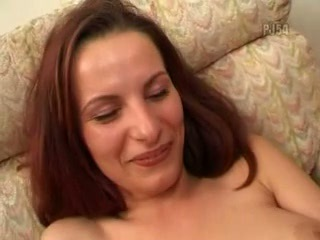 Beautiful busty girl bukkake and fucked
