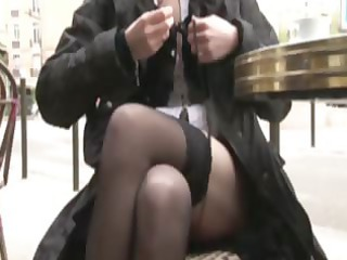 french lady florence analfucked into stockings