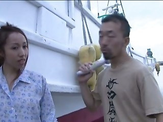 Japanese Fisherwoman Creampied Pt    Uncensored    Cireman