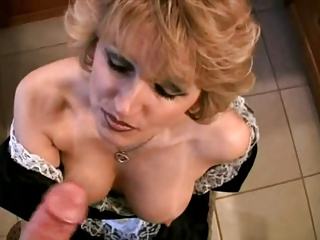 Bathroom Blowjob Mature Natural Pov