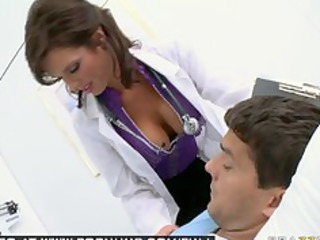 large knocker brunette lady pornstar medic gangbangs
