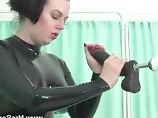 mature into latex licks and gangbangs sex machine