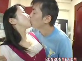 Asian Japanese Kissing