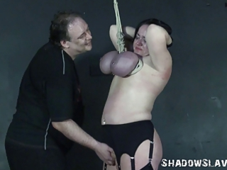 andreas grownup breast bondage suspension