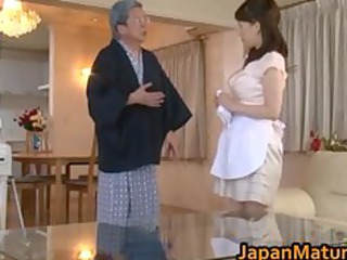 Asian Daddy Japanese Maid