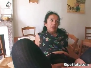 horny cougar amp double fucked as solitary part6