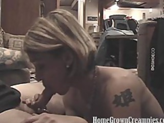 Amateur Blowjob Homemade  Tattoo