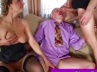 Bisexual Mmf Threesome Sucking
