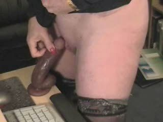 Dildo Homemade Mom Stockings