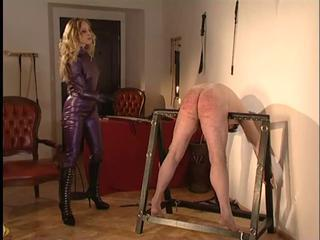 Owk Madame Christina cropping slave
