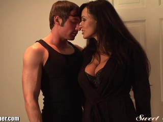 Lisa Ann Fucks Young Muscled Timber