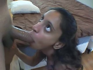 Amateur Jessie sucking a big hard cock