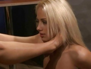 Young mistress playing relative to slavegirl