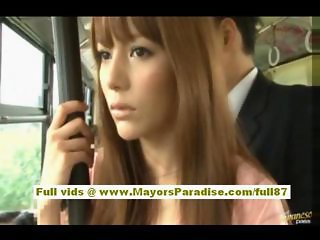Asian Bus Cute Japanese Public Teen