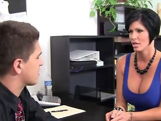 Big Tits  Office Pornstar