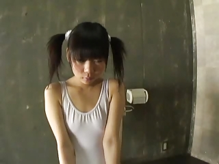 Asian Japanese Pigtail Skinny Small Tits Teen