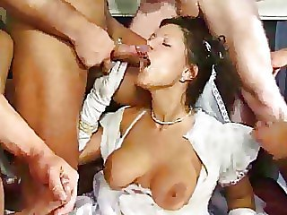 Blowjob Bride Gangbang Uniform Vintage