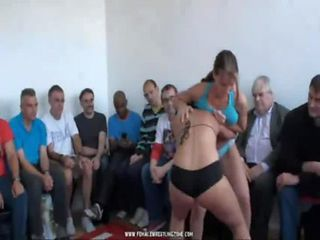 best girls wrestling on YT with Mutiny-Zsuzsa (second...
