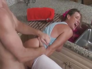 Hot Mom is Stuck
