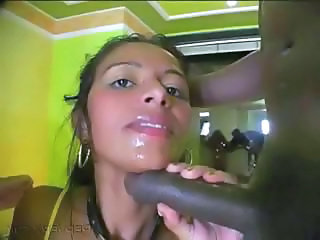 Blowjob Ebony Girlfriend Webcam