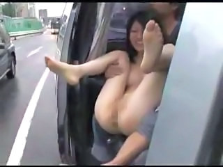 Asian Car Funny Public