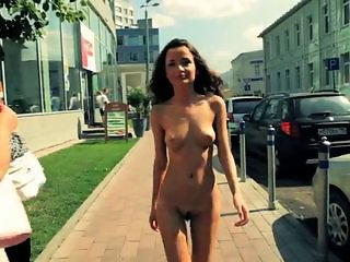Nudist Outdoor Public Russian Teen