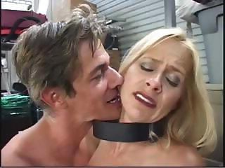 Blonde Payton Leigh gets bound and toyed and banged in pantyhose