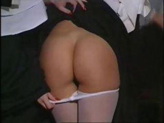 Ass Lesbian Nun Pantyhose Teen Uniform Vintage