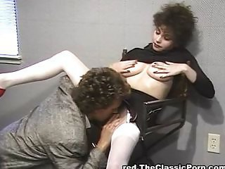 Clothed Hairy Licking Vintage