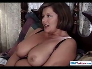 Big Tits Chubby Mature Natural Wife