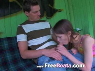 Amateur Blowjob Girlfriend Public Teen