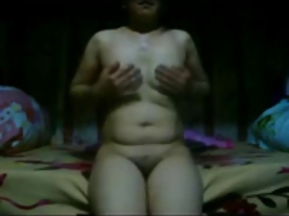 Amateur Asian Chubby Homemade Mature